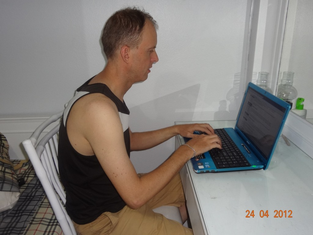 Computers and sitting have a lot to answer for when it comes to analyzing modern man and his posture