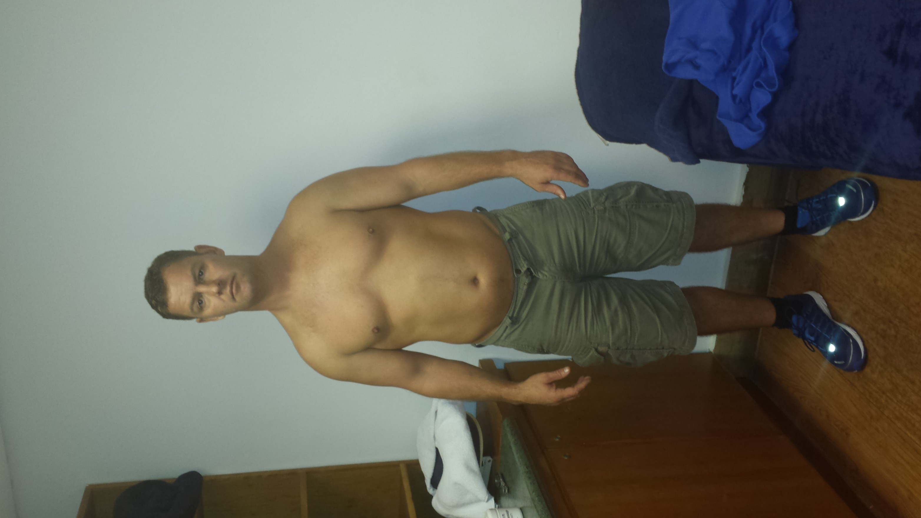 Before the warrior diet 98kgs